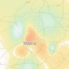 Visualización de las temperaturas diarias de Madrid